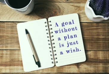 Life inspirational quotes - A goal without a plan is just a wish.